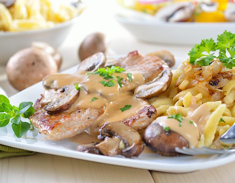 Gastronomie und Cafeteria